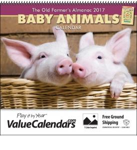 Custom Old Farmers Almanac Calendars
