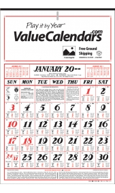 Custom Traditional Almanac Calendar