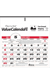 Custom Imprinted Small Almanac Calendar