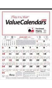Promotional Almanac Calendar